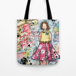 She was Brave Tote Bag