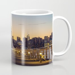 Sunset in New York City (Color) Coffee Mug