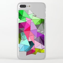 perfect colors in an imperfect configuration Clear iPhone Case