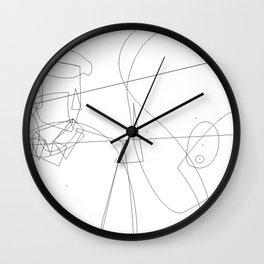 Enlightened me Wall Clock