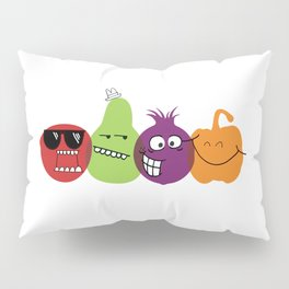 Produce Personified Pillow Sham