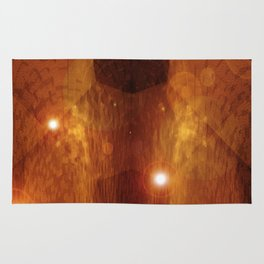 Skyscapes With Light In 3-D v.2 Rug