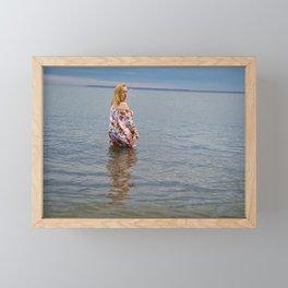 Soft Eyed Beauty Framed Mini Art Print