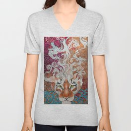 Cnnamon Buns and Dragons II Unisex V-Neck