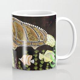 Sea Turtle, Reef Fish Coffee Mug