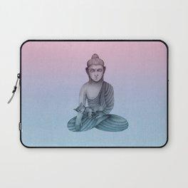 Buddha with cat1 Laptop Sleeve
