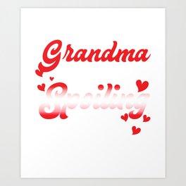 Amazing Costume For Grandma. Top Gift Art Print
