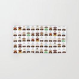 Gingerbread Coffee Family Hand & Bath Towel