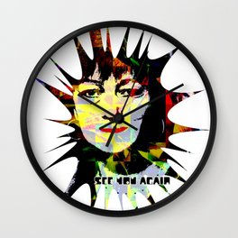 SEE YOU AGAIN Wall Clock
