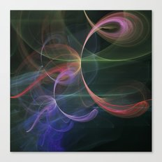 Futuristic Background Canvas Print