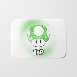 1-UP from Mario Bath Mat