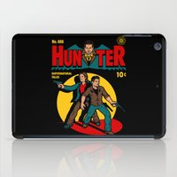 comic iPad Cases featuring Hunter Comic by harebrained