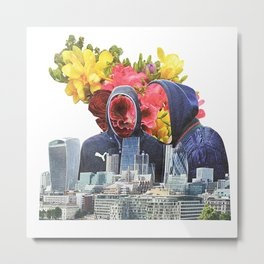 Urban Beauty Metal Print