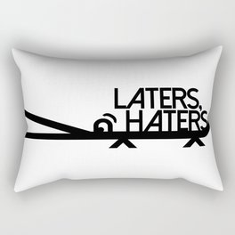 Laters, Haters (Alligators) Rectangular Pillow