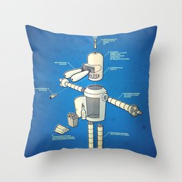 Bender Throw Pillow