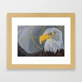 crazy eye eddie Framed Art Print