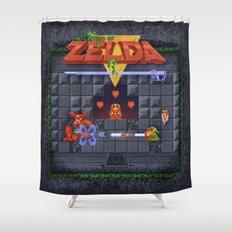 The Zelda of Legend Shower Curtain