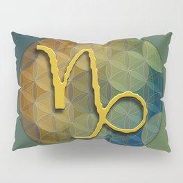 CAPRICORN Flower of Lie Astrology Design Pillow Sham