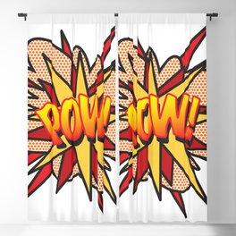 Comic Book Pop Art POW! Blackout Curtain