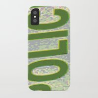 police iPhone & iPod Cases featuring police by XiXi