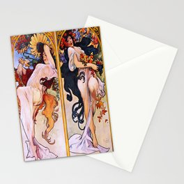 Vintage poster - Four Seasons Stationery Cards