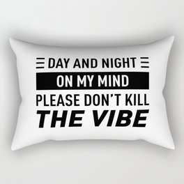 Day And Night On My Mind Rectangular Pillow