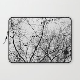 Nature in black and white Laptop Sleeve