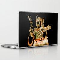 boba Laptop & iPad Skins featuring Boba by Robotic Ewe