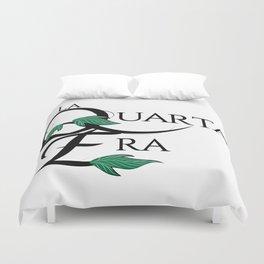LaQuartaEra_White Duvet Cover