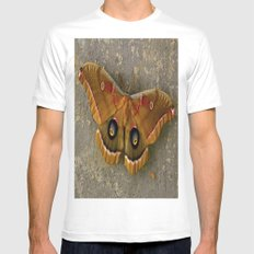 The Art of Nature MEDIUM Mens Fitted Tee White