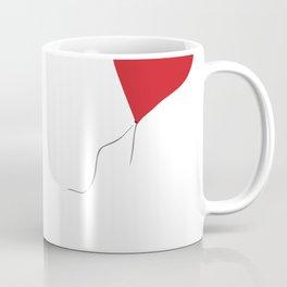 Banksy Girl with Heart Balloon Coffee Mug