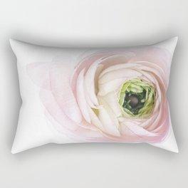 Pink Ranunculus Flower I Rectangular Pillow
