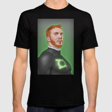 Guy Gardner SMALL Black Mens Fitted Tee