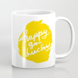 Happy Go Lucky Coffee Mug