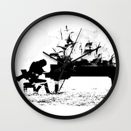 Pianist Passion Wall Clock