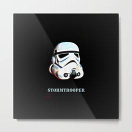 Original StormTrooper helmet Metal Print