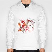 oriental Hoodies featuring oriental by Lua Fraga