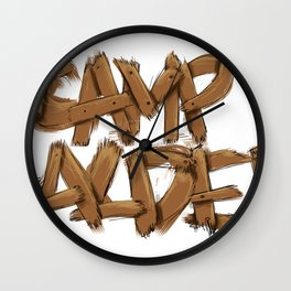 CC! Wall Clock