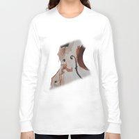 violin Long Sleeve T-shirts featuring violin by Anja Kidrič AdAk