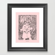 WVSSYCAT Framed Art Print