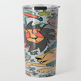 animals are cool Travel Mug