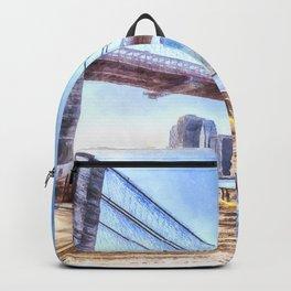 Brooklyn Bridge Art Backpack