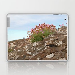 Giant's Causeway flowers Laptop & iPad Skin