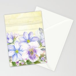 Flowers bouquet 69 Stationery Cards