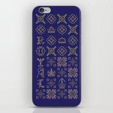 Royal [pattern] iPhone & iPod Skin