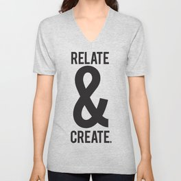 Relate & Create Unisex V-Neck