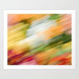 Colorful Strokes 2 Art Print