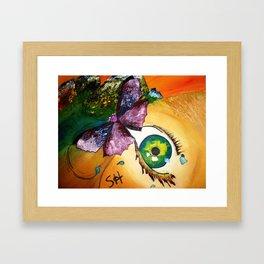 Mother Earth' Devotion Framed Art Print