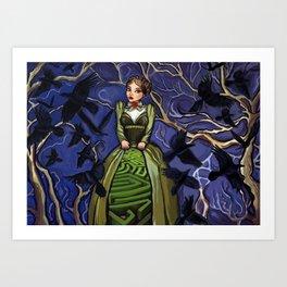 Inner Labyrinth Art Print