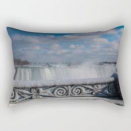 iced fencing - Niagara Rectangular Pillow